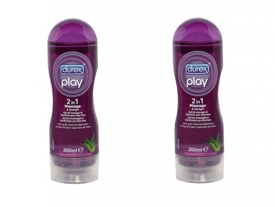 Durex Play Massage 2 in 1 - Sparpack 2 Stück - 200ml