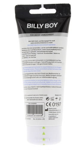 Billy Boy white Gleit- und Massagegel 200ml Tube