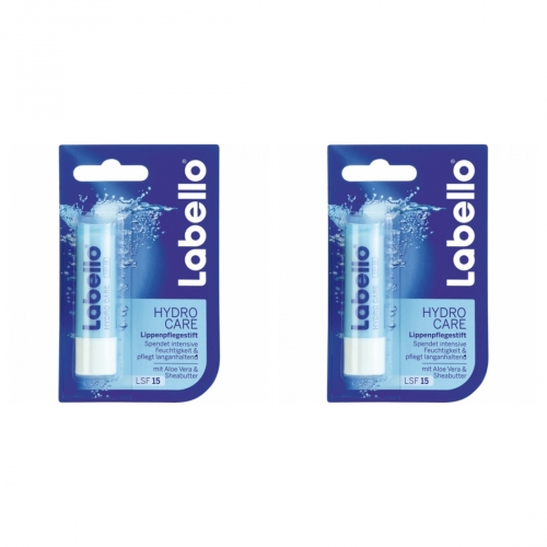 2 x Labello Lippenpflege Hydro Care 4,8g