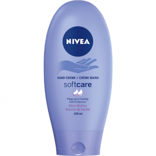 4 x Nivea Handcreme Softcare 100ml