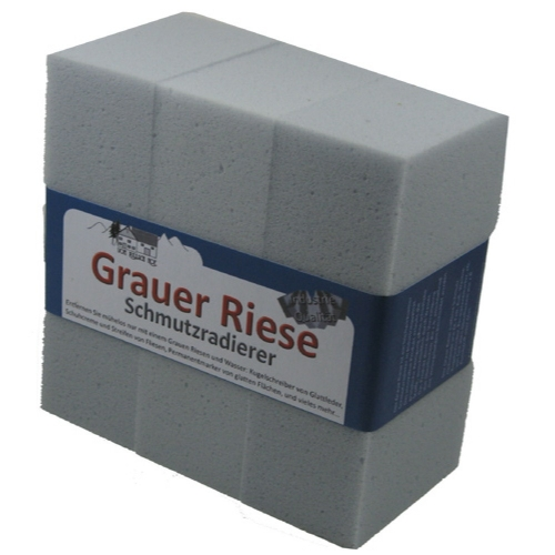 12 x Grauer Riese made in Germany- Schmutzradierer