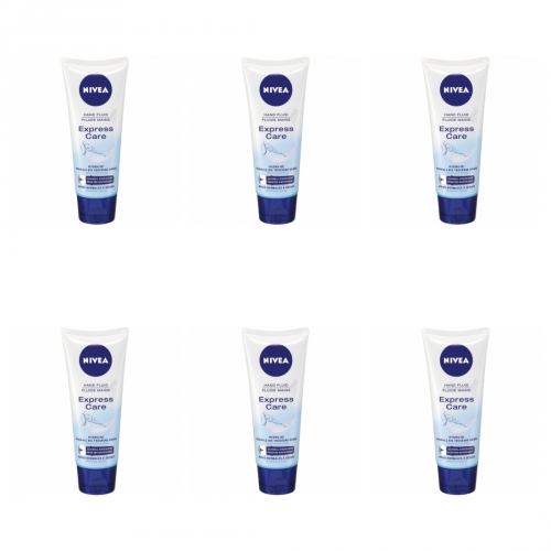6 x Nivea Handcreme Express Care 100ml