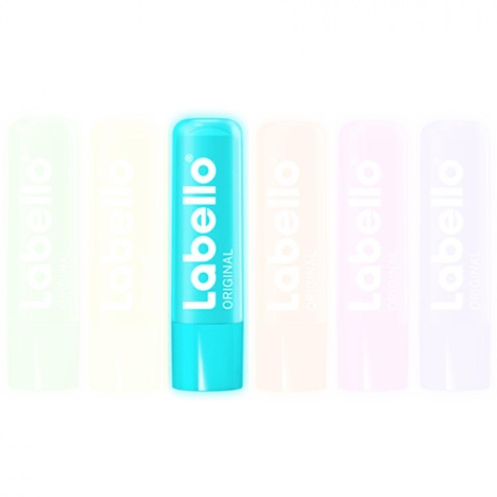 Labello Lippenpflege Original Neon 48g Farbe Hellblau